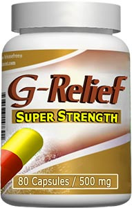 """Ganglion cyst treat """"G-Relief Super Strength Caps Removes ganglion"""