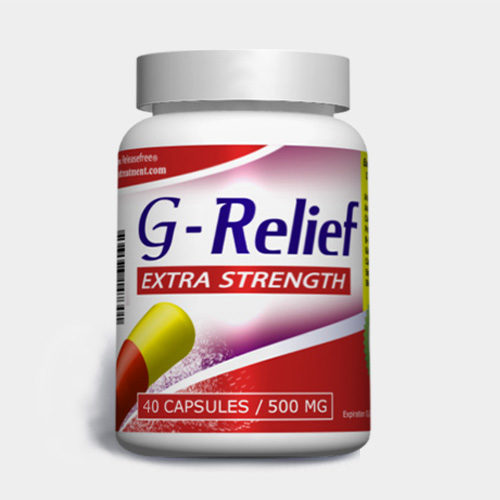 Natural Cure for ganglion cysts G-Relief Extra-strength-40-capsules INFO ganglioncysttreatment.com