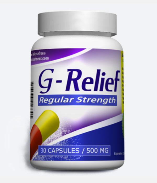 "Ganglion Cyst Treatment ""G-Relief Regular Strength Caps Removes ganglion INFO g-relief.com"